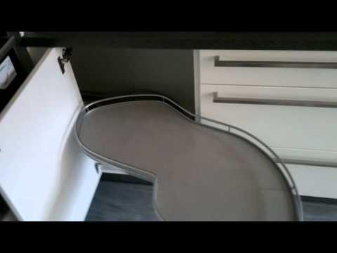 LeMans Eckschrank-Drehbeschlag für die Küche
