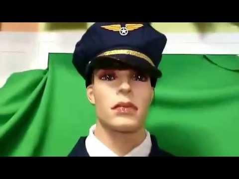 disfraz piloto aviones