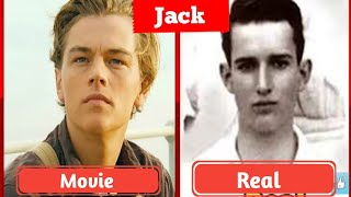 Titanic Real Cast And Crew | Titanic Real Charectors.Jack and Rose Real images