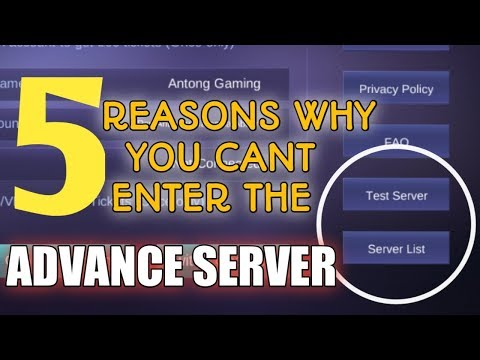 Mobile Legend Advance Server 2019 | STAMP TV
