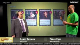 World Championship 2014 Deck Tech with Willy Edel: Abzan