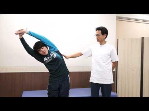肘付き腕上げ 改善エクササイズ①【ケガ予防フィジカルチェック用】