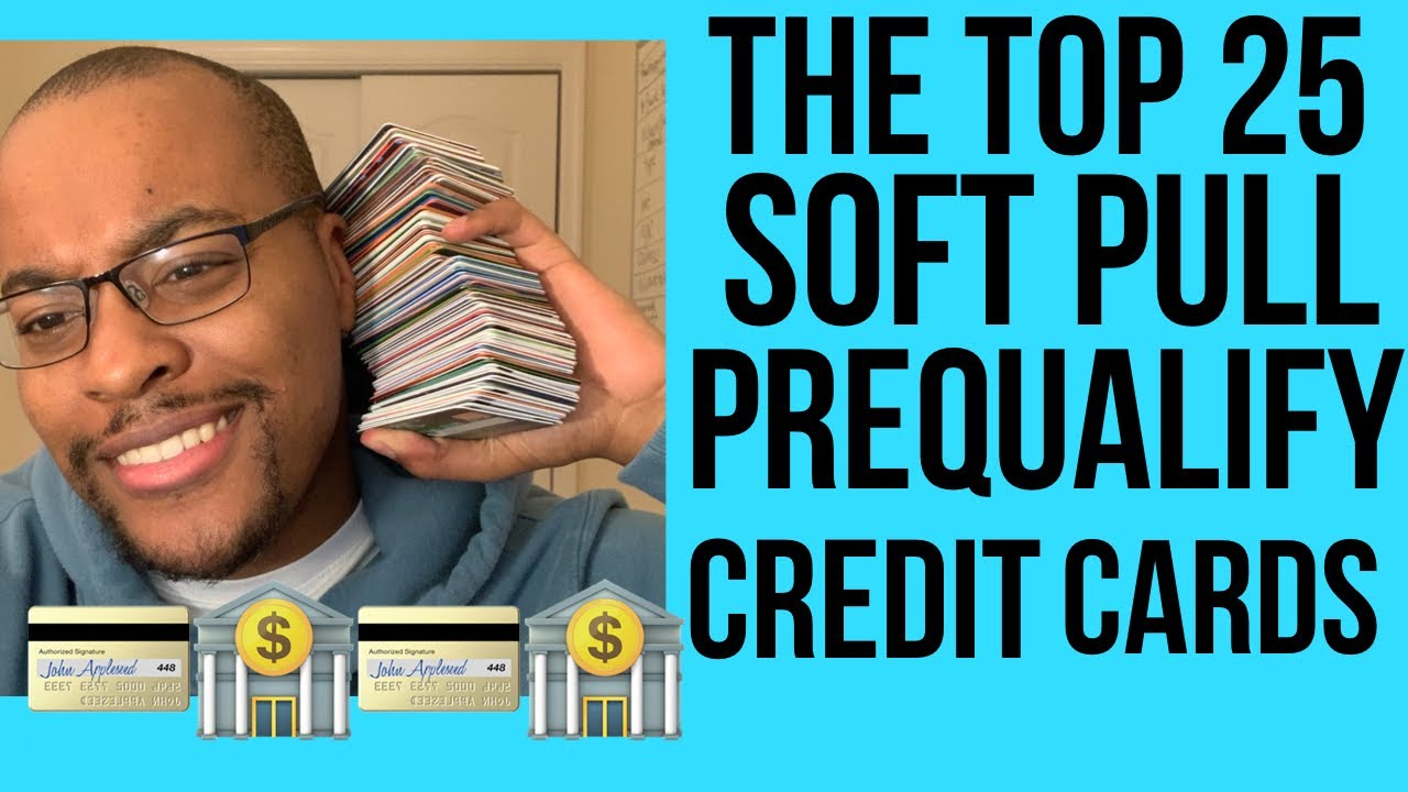 Significant Video Game Changer! Leading 25 - Soft Pull Prequalification Credit Cards and Shop Cards! thumbnail