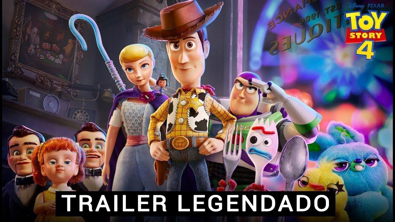 Primeiro trailer de Toy Story 4 mostra novo personagem!