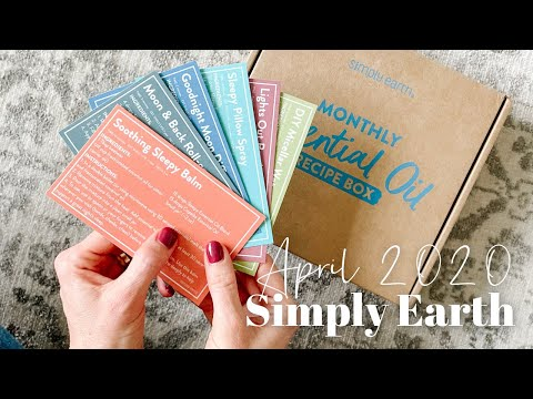Simply Earth Unboxing April 2021