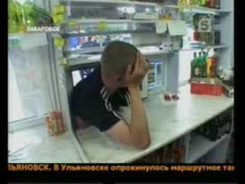Najgłupszy złodziej na świecie - rabuś kiosków