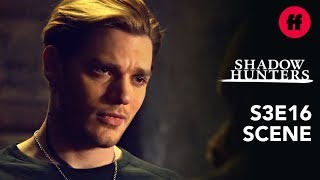 Shadowhunters Season 3, Episode 16 | Jace is Clary's Anchor | Freeform