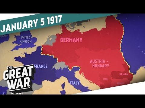 Svět ve válce v roce 1917