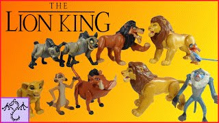 1994 Lion King Action Figures Collection & Review