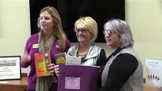 Alzheimer's Association donates books to Senior Center