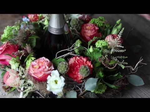 Floristik Trends 2018 | Floraler Sektkühler | Floristik InspirationOASIS® Floral Products