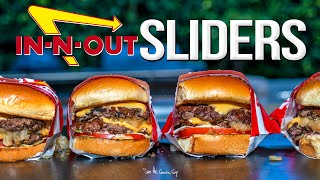 IN-N-OUT BURGER SLIDERS | SAM THE COOKING GUY 4K
