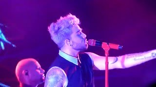 HD - Adam Lambert - Underground (live) @ Gasometer, Vienna 2016 Austria