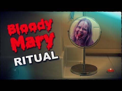 Real Bloody Mary Ritual Caught On Camera