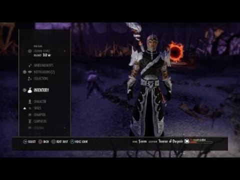 One Bar Easy vMA w/Video MagSorc Build for Summerset(No Trial