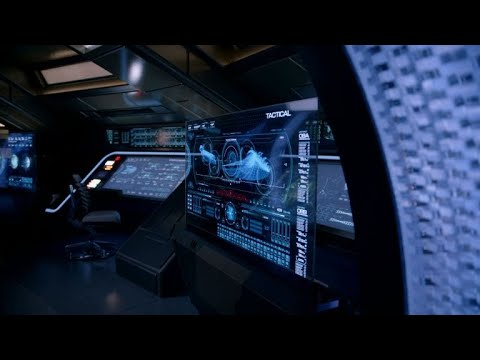 Welcome Aboard The U.S.S. Discovery Bridge From Star Trek: Discovery