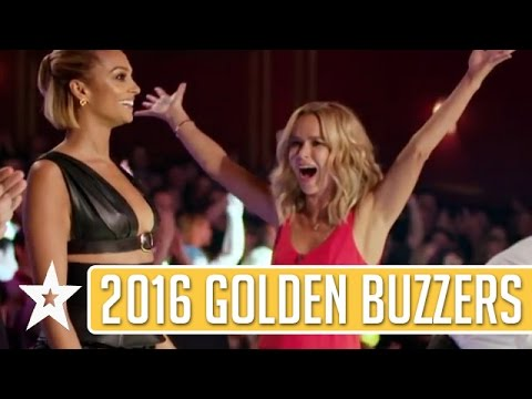 GOLDEN BUZZER Auditions On Britain's Got Talent 2016 (видео)