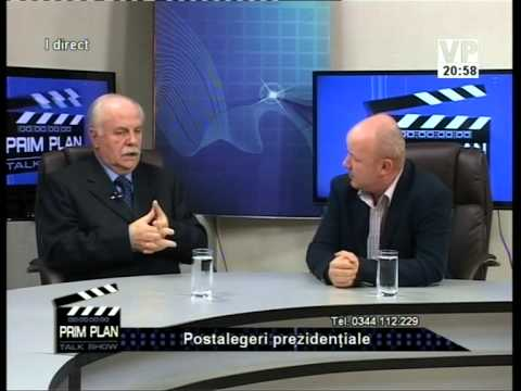 Emisiunea Prim Plan – Romeo Hanganu și Victor Preda –  18 noiembrie 2014