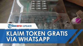 Pemerintah Gratiskan Listrik, Klaim Token Listrik Via WhatsApp Bisa Dilakukan Senin 6 April 2020