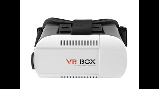"VR Box 3D Virtual Reality VR Glasses review Google Cardboard for 4.7"" - 6"" Smart Phone cheap ebay"