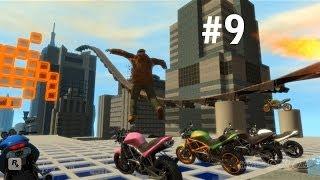 GTA IV - Приколы, Трюки и Аварии! (Stunts, Crashes and Fun!) #9