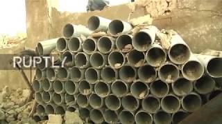 Syria: US weapons found in liberated town of Homs - Russian MoD