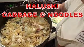 Haluski (Cabbage & Noodles)