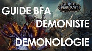 BFA - 8 0 Demonology Warlock DPS Guide! Azerite, Talents and