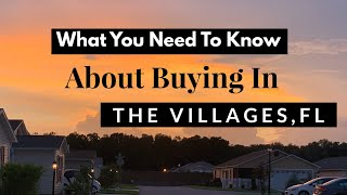 5 Things You Need To Know | Buying in The Villages FL