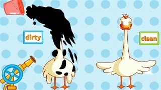 Baby Learn Antonyms with Baby Panda - Funny Video and Game For Kids