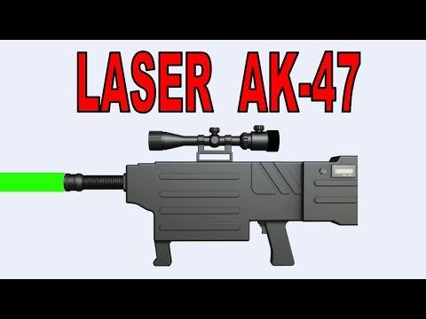 Styro pyro debunks the chinese laser AK 47