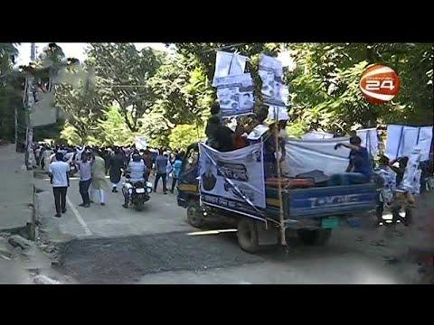 ঢাকা-১৮ উপনির্বাচন: প্রচারণায় ব্যস্ত বিএনপি ও আ. লীগ প্রার্থী