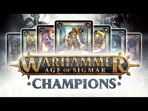 Warhammer Age of Sigmar: Champions Official Trailer thumbnail