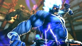 Super Street Fighter 4 AE PC Ver. 2012 secret Shin Oni Boss all quotes 1/2