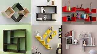Top 10 DIY Floating Shelves | Home Interior Wall Decoration