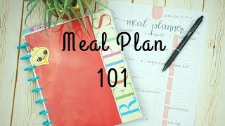 Meal Planning 101 / How To Meal Plan For Beginners / Budget Tips For Meal Planning
