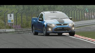 Unusual Vehicles at Nürburgring - 2014 Ford FPV Limited Edition Pursuit Ute (Forza Motorsport 7)