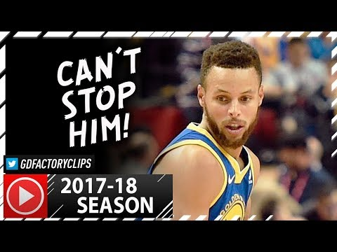 Stephen Curry UNREAL PS Highlights vs Timberwolves (2017.10.08) - 40 Pts, MVP Chants in China!