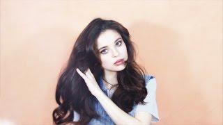 Объемная укладка для тонких волос / Пышные локоны☺✌ How to curl yor hair *__*