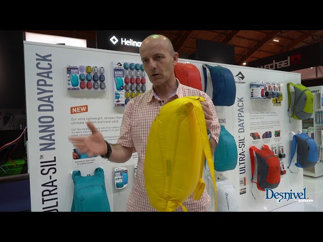 Видео Рюкзак гермочехол Sea to Summit Ultra-Sil Nano Daypack голубой