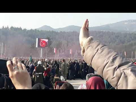 Amasya 1999-1 Devre ve 374 K.D Askerleri Yemin Töreni -15 Piyade Eğitim Tugayı -22.02.2019 -Part 2