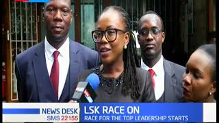 The race to head Law Society of Kenya is officially on