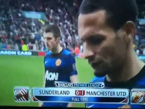Manchester United premature celebration