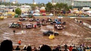 Arizona State Fair 2015 - Demolition Derby - FULL EVENT VIDEO (Phoenix, Arizona)