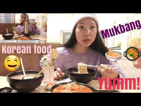 KOREAN FOOD | MUKBANG | EATING SHOW