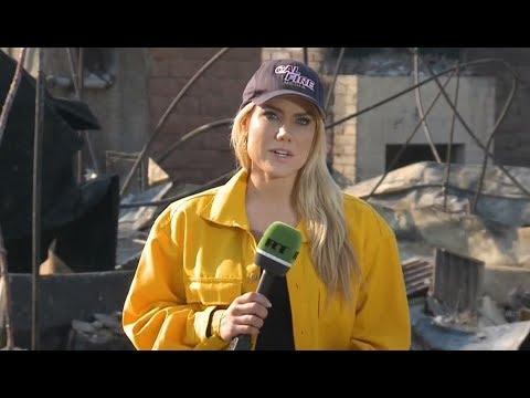 Thomas Fire devouring California