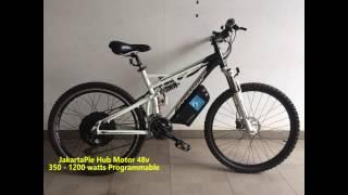 Electric Bike Ride Test