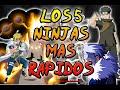 Top 5 ninjas mas veloces en Naruto