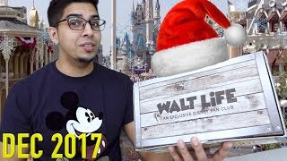 UNBOXING - WALT LIFE - WALT DISNEY WORLD - Subscription Box!! DECEMBER 2017 CHRISTMAS SPECIAL!