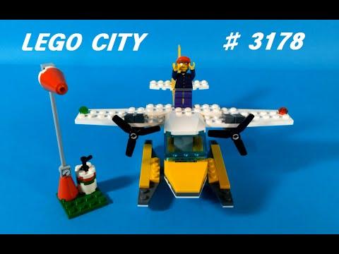 Vidéo LEGO City 3178 : L'hydravion